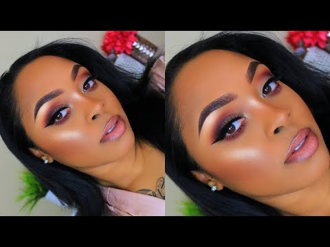 Soft Matte Holiday Makeup Using All Drugstore Products!