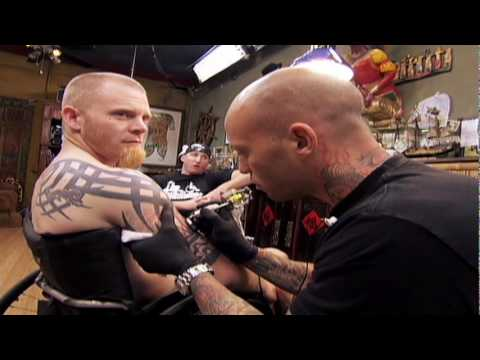 Miami Ink - Mark Zupan gets inked