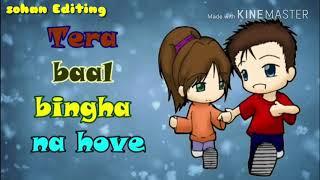 Ishq Tere Da Nasha Ho Gaya Sanu WhatsApp status video