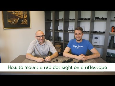 How To Mount A Red Dot Sight On A Riflescope   Optics Trade Debates