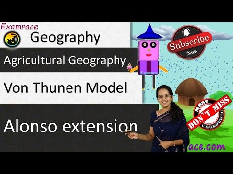 Von Thunen Model of Agricultural Location: Fundamentals of Geography