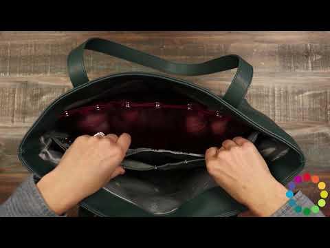 Product Spotlight - Namaste Knitter's Tote Bag