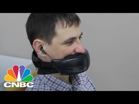 HushMe Mask Claims to Keep Phone Conversations Private | CNBC