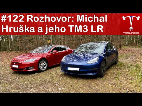 #122 🎤 Michal Hruška a jeho TM3 LR (2019) vs. TMS 75D (2017 H2) | Teslacek