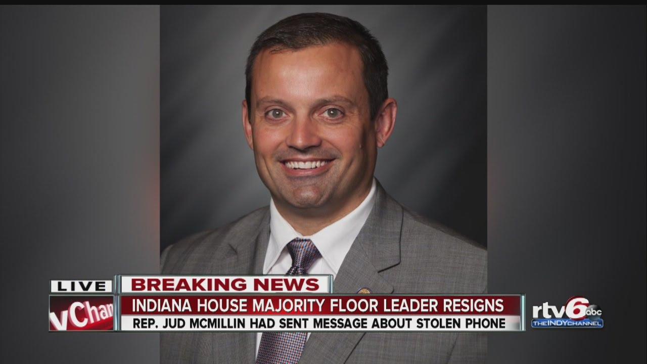 Indiana House Majority Floor Leader Resigns