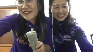 Hai bạn . Hiền & Thu hát chèo 30 tết 2019
