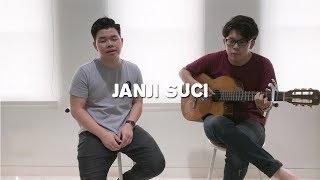 Janji Suci - Yovie & Nuno ( Willy Anggawinata Cover + Lirik )