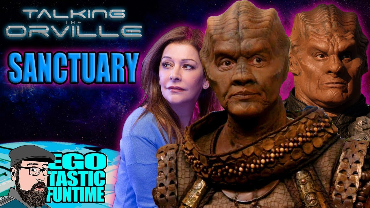 Download The Orville Season 2 Sanctuary - RECAP & REVIEW - Marina Sirtis & Tony Todd   TALKING THE ORVILLE