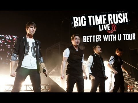 Big Time Rush Better With U Tour Full Concert Youtube