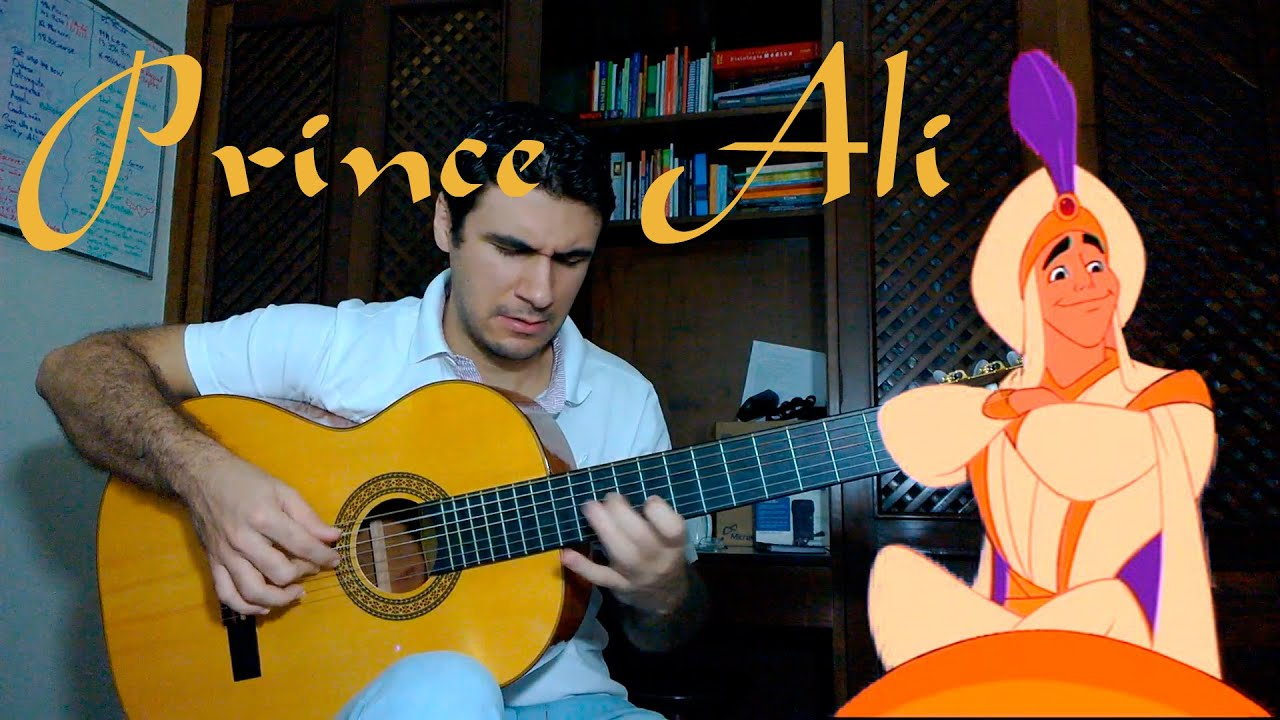 Prince Ali Aladdin Disney Fingerstyle Guitar Marcos Kaiser 23