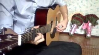 Ngôi nhà hoa hồng guitar cover