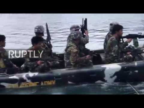 Philippines: Army patrols Marawi as battle continues against militants