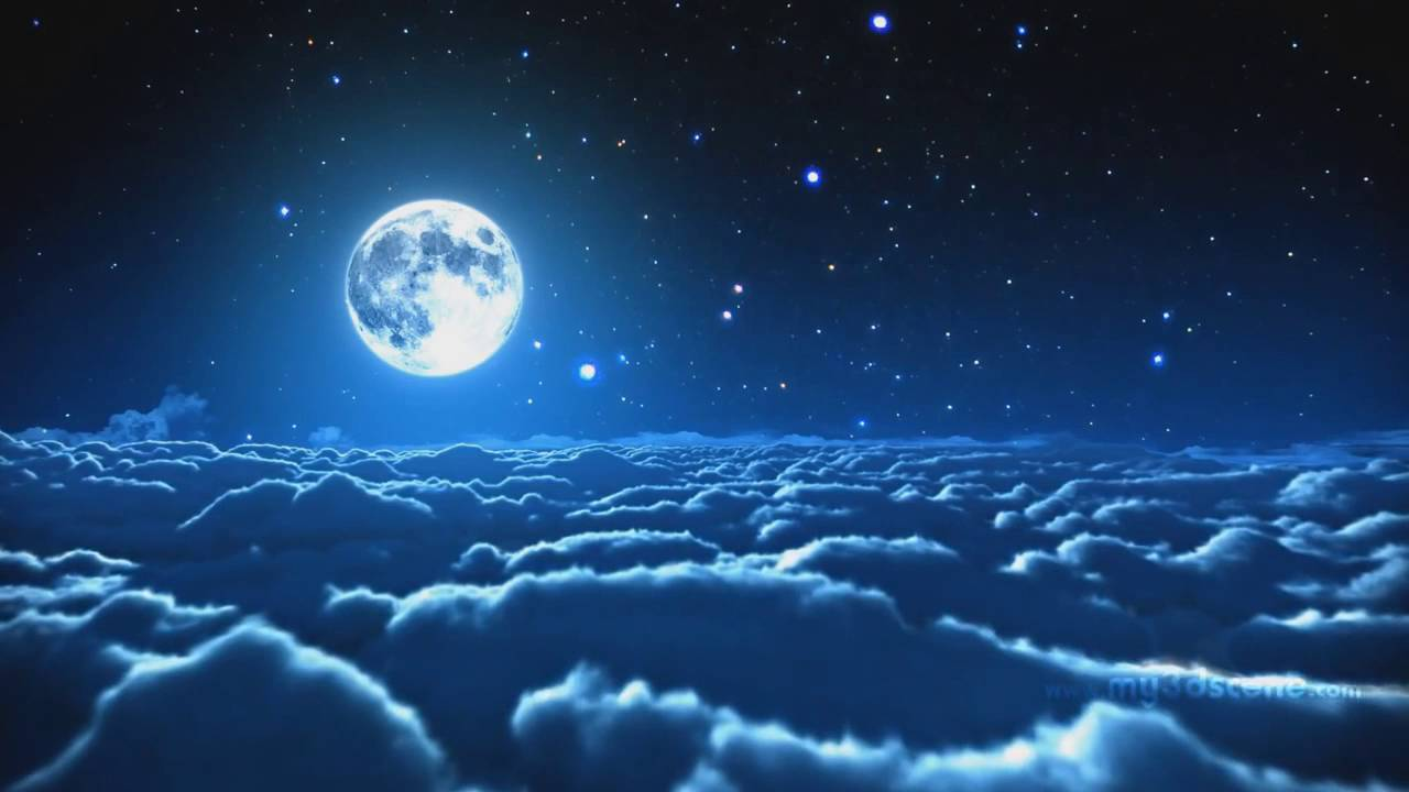 Feature Wall Wallpaper 3d Animated Moon Wallpaper Youtube