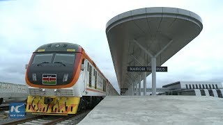 Kenya's new railway attracts thousands as services take off