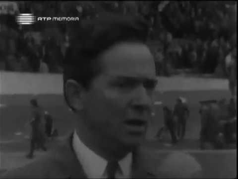 Reportagem sobre Fernando Vaz, no Sporting - 1 x Benfica - 0 de 1969/1970