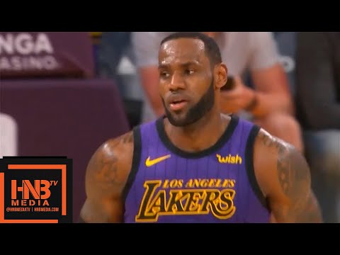 Los Angeles Lakers vs Brooklyn Nets 1st Half Highlights | March 22, 2018-19 NBA Season