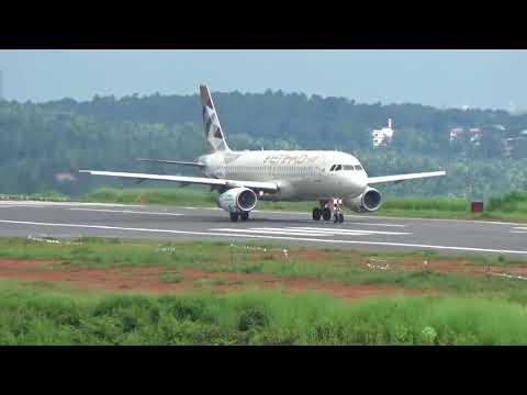 Etihad airways takeoff from calicut airport