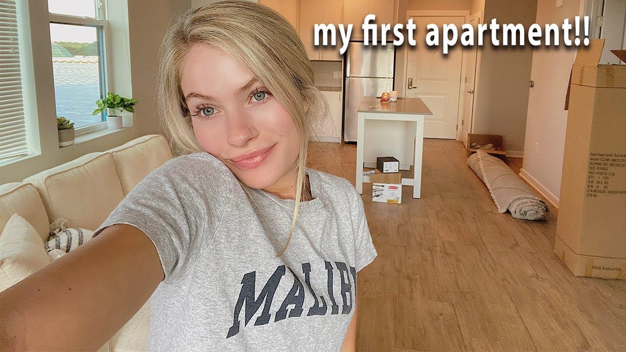 I GOT MY OWN APARTMENT! *moving vlog*