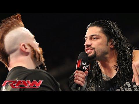 Roman Reigns Verlangt Ein Rückmatch Gegen Sheamus: Raw – 23. November 2015