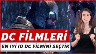 Gelmiş Geçmiş En İyi 10 DC Filmi! (Çekiliş) | DC Sinema Evreni'nin İyileri