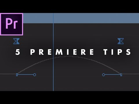 5 Things EVERY EDITOR Should Know in Adobe Premiere Pro (CC 2017) | Tips Tutorial