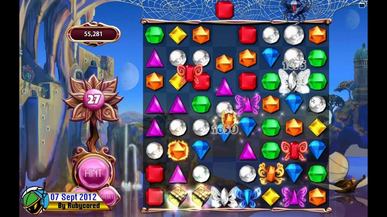 Bejeweled LIVE First Windows 8 Game by PopCap