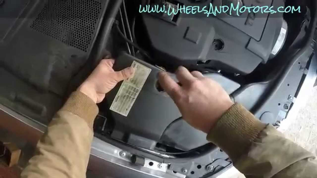 How To Replace Air Filter For Skoda Superb 3u Vw Passat
