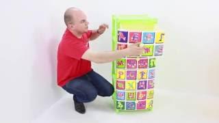 видео Детский пластиковый комод для игрушек и вещей