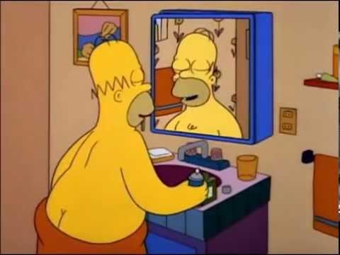 Homer Simpson Canta Oh Mindy