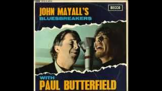 JOHN MAYALL'S BLUSEBREAKERS with PAUL BUTTERFIELD