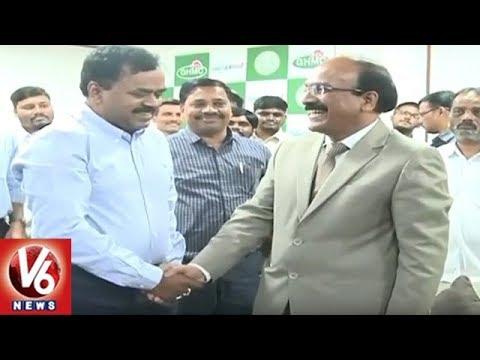 Dhana Kishore & Janardhan Reddy Takes Charge | GHMC Commissioner & HMDA  Commissioner | V6