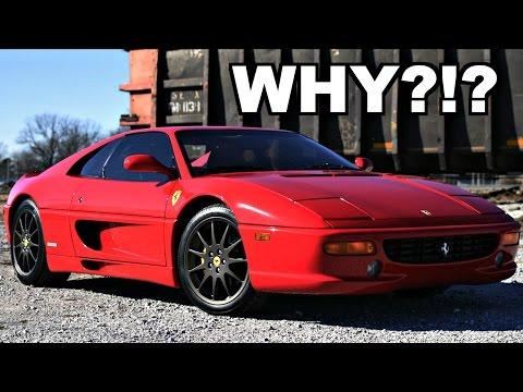 Why I Bought A Ferrari 355 Over a 360 or F430! (Buying A Ferrari At 17)