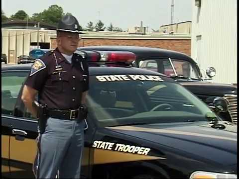 Indiana State Police - 6.17.1998 New Black Cars on the Road
