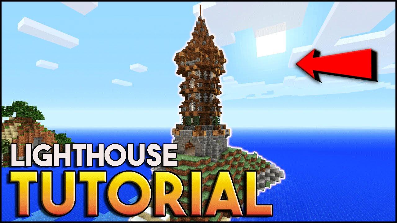 Minecraft Building Ideas Lighthouse