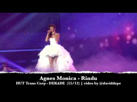 Agnes Monica - Rindu at HUT TransCorp - DEKADE (15/12)
