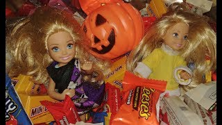Swimming in Halloween Candy!