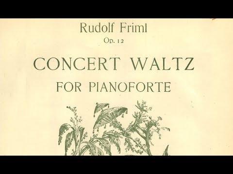 Rudolf Friml: Concert Waltz No. 12