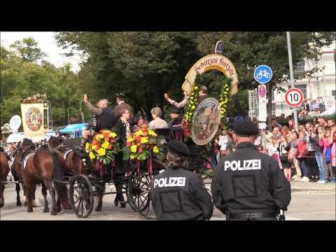 185. Münchner  Oktoberfest - Einzug Der  Wiesnwirte  2018