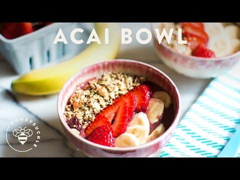 Acai Berry Bowl - Honeysuckle