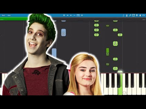 Disney's Zombies - Someday - Piano Tutorial - Milo Manheim, Meg Donnelly