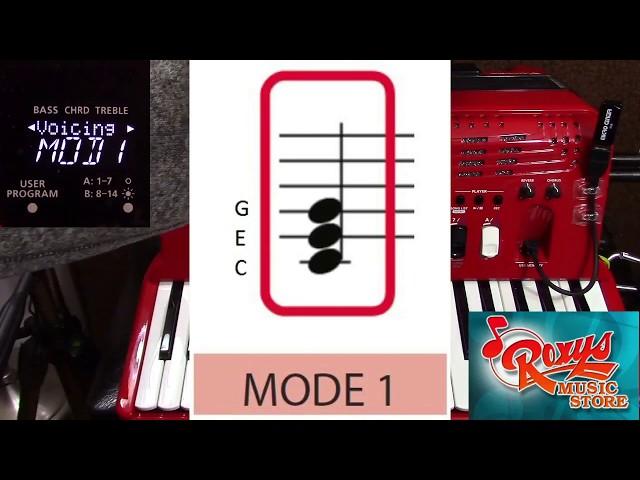 FR-4x, Orchestra Bass Chord Voicing Parameter