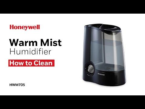 Honeywell Warm Mist Humidifier HWM705 - How to Clean