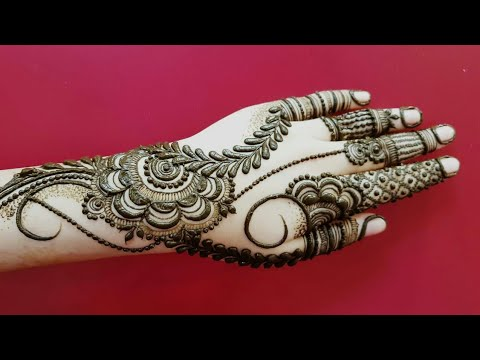 Dubai Henna Design 14 Heena Vahid Youtube