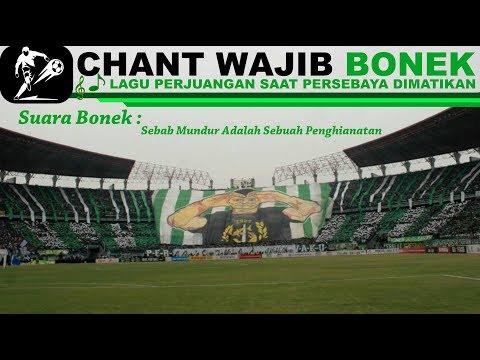 Lagu Wajib BONEK Di Stadion [SUARA BONEK] Mengingatkan Pada Perjuangan Bangkitkan PERSEBAYA