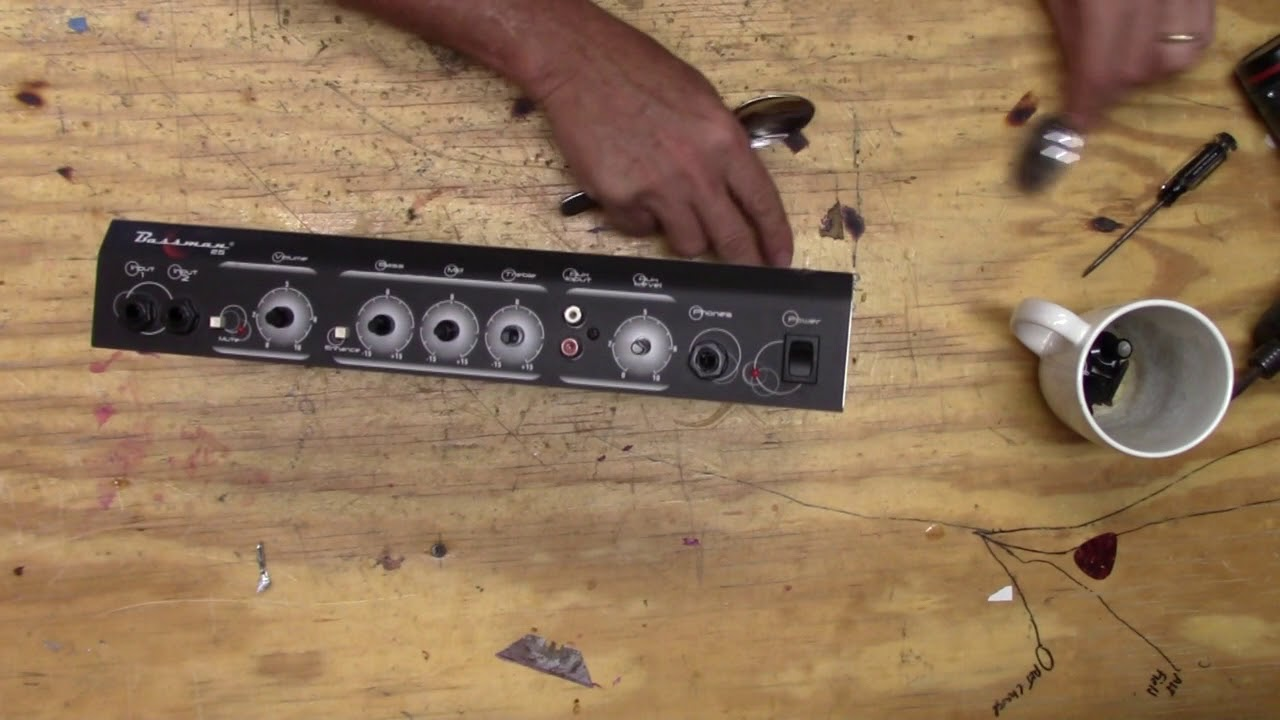 hight resolution of fender bassman 25 input jack repair