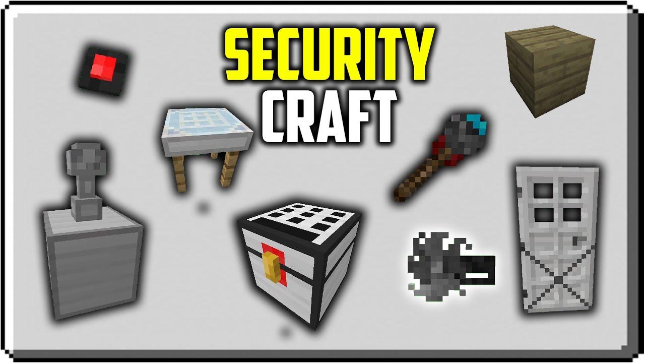 Security Craft Para Minecraft Pe Bedrock Youtube