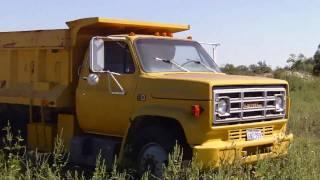 GMC 7000 Dump Truck [HD 1080p]
