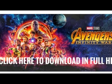 How To Download Avengers: Infinity War (2018) Hindi Dubbed Movie In Full HD