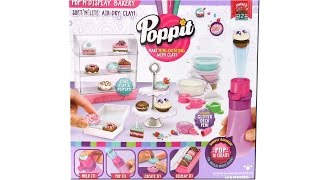 Poppit Pop N Display Bakery Playset Unboxing Review