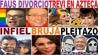 INES GOMEZ MONT GLORIA TREVI DANIEL BISOGNO TV AZTECA LA AMROMA ESTELAR  FAUSTO PONCE TV AZTECA